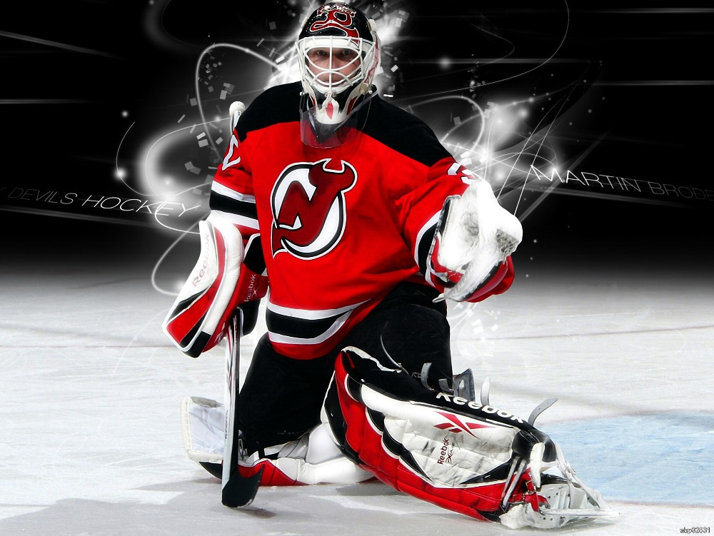 Martin Brodeur New Jersey Devils Art Huge Print Poster TXHOME D5277(China (Mainland))