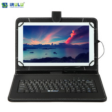 iRULU RUSSIAN KEYBOARD 10 inch tablet case for Using Russian Language Leather Micro USB Keyboard Case to Plate Tablet Device(China (Mainland))