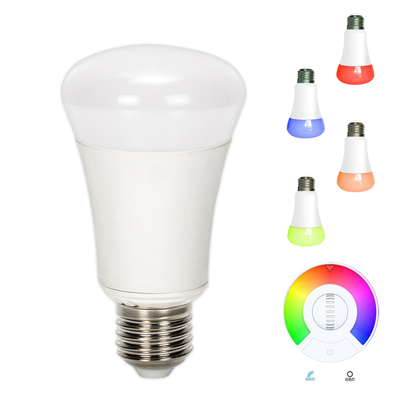 Wifi controlled led light bulb new wifi bluetooth controlled led color smart light bulb 7w e27 Smart light bulbs