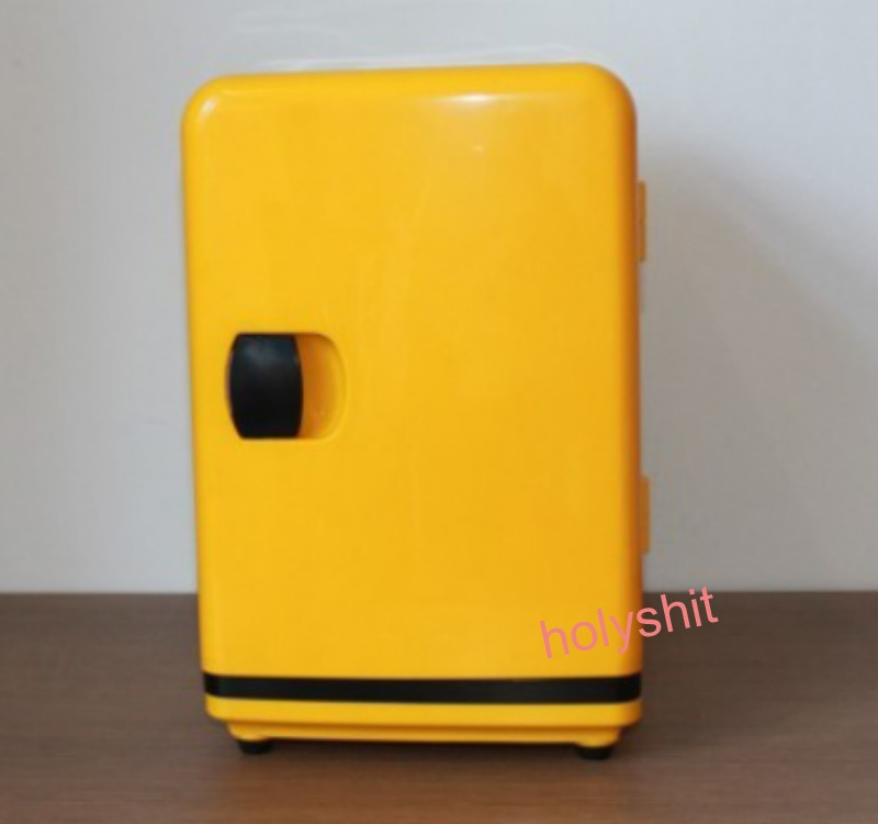 5L Auto car refrigerator mini fridge dual use home + car 220V + 12V electric cooler box heating box outdoor office refrigerato(China (Mainland))
