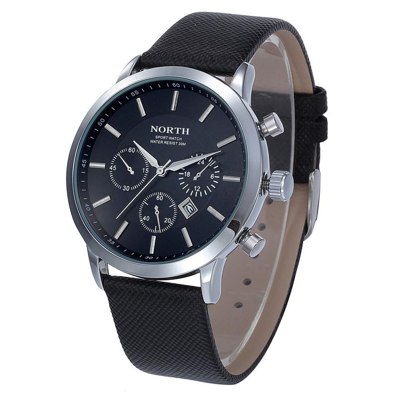 Watch men Fashion Brand Men s Casual SPorts Quartz Watches Slim Case Date Display Strap Military