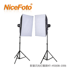 studio light photo flash studio strobe kit Nice studio flash 250w photographic equipment portraitist softbox photography CP