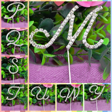 rhinestone letter cake topper reviews