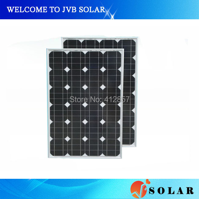 PV solar module kits 60w Photovoltaic Mono solar cell panel for off grid and on grid power system home use(China (Mainland))