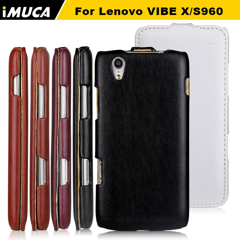 for Lenovo S960 Vibe X Case cover IMUCA Brand Original luxury PU leather phone casesfor Lenovo S960 Case flip cover(China (Mainland))