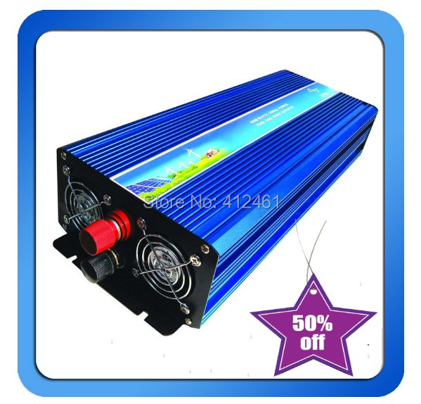 1500w Pure Sine Wave Solar Inverter CE ROHS Approved dc 12v to ac 220v 50HZ car inverter free shipping !