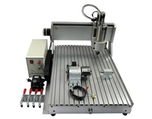 Engraving machine CNC 6040 Z-VFD 2.2KW 4axis stone cnc router(China (Mainland))