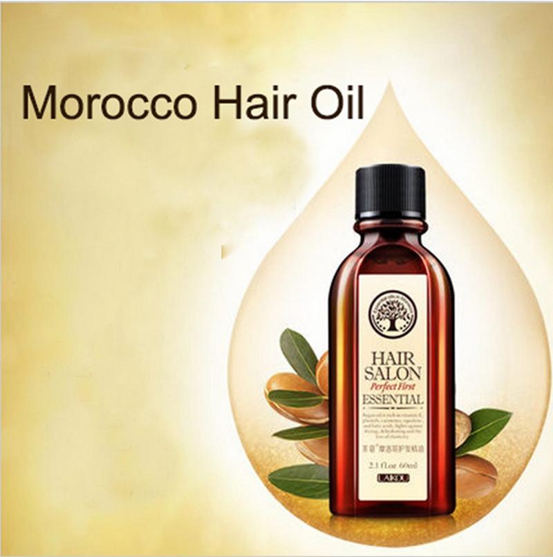 Moroccan Pure Argan Oil Hair Care 60ml Hair Oil Treatment For Dry Hair Types Hair & Scalp Treatment