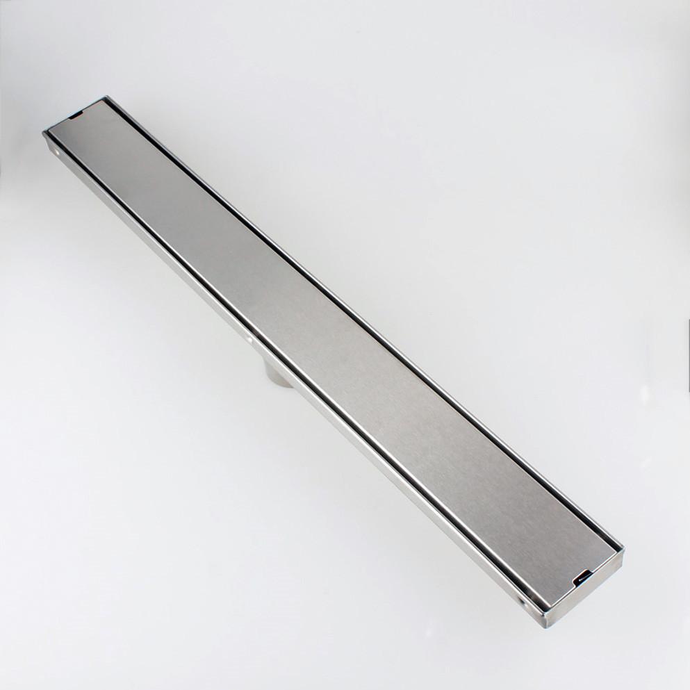 Купить 24 inch/60 см SUS304 Нержавеющая Сталь Wetroom Трапных линейный Душ Drain Плитка Декор 11-212
