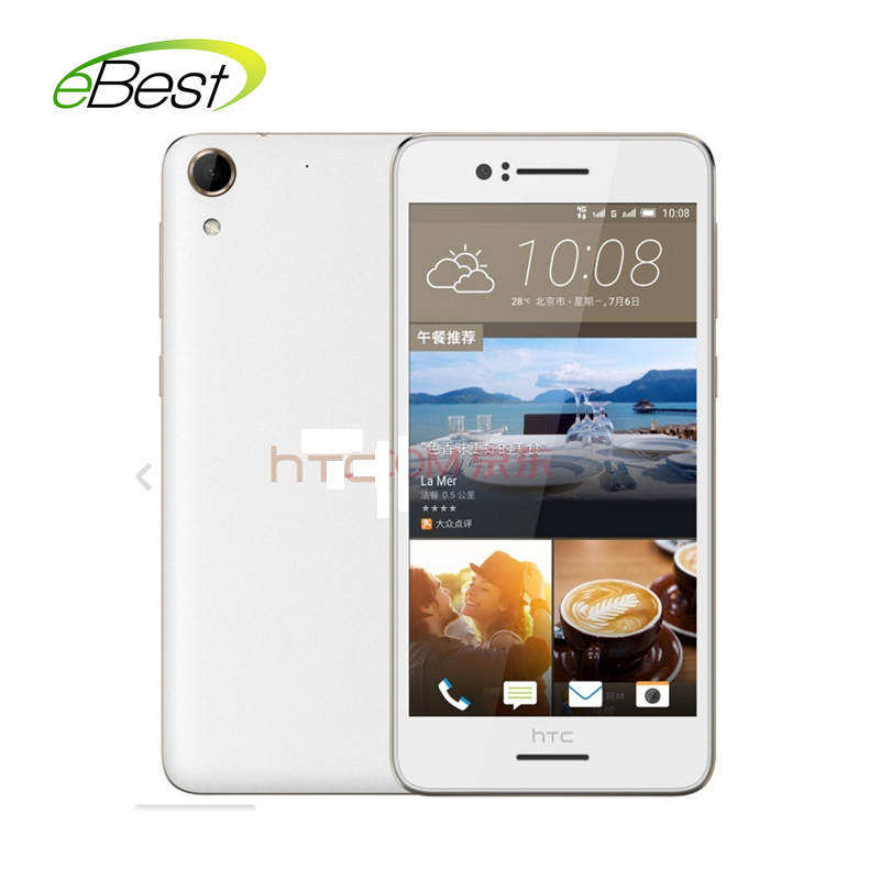 Original HTC Desire D728w / 728W 4G lte Android smart phone Octa core 5.5 inch 1280X720 RAM 2GB ROM 16GB 13MP Dual SIM mobile(China (Mainland))