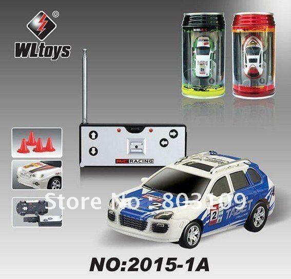 WLtoys 1:63 Mini 7CM Electric Toy & Lights Coke Can RC Car WL 2015-1A