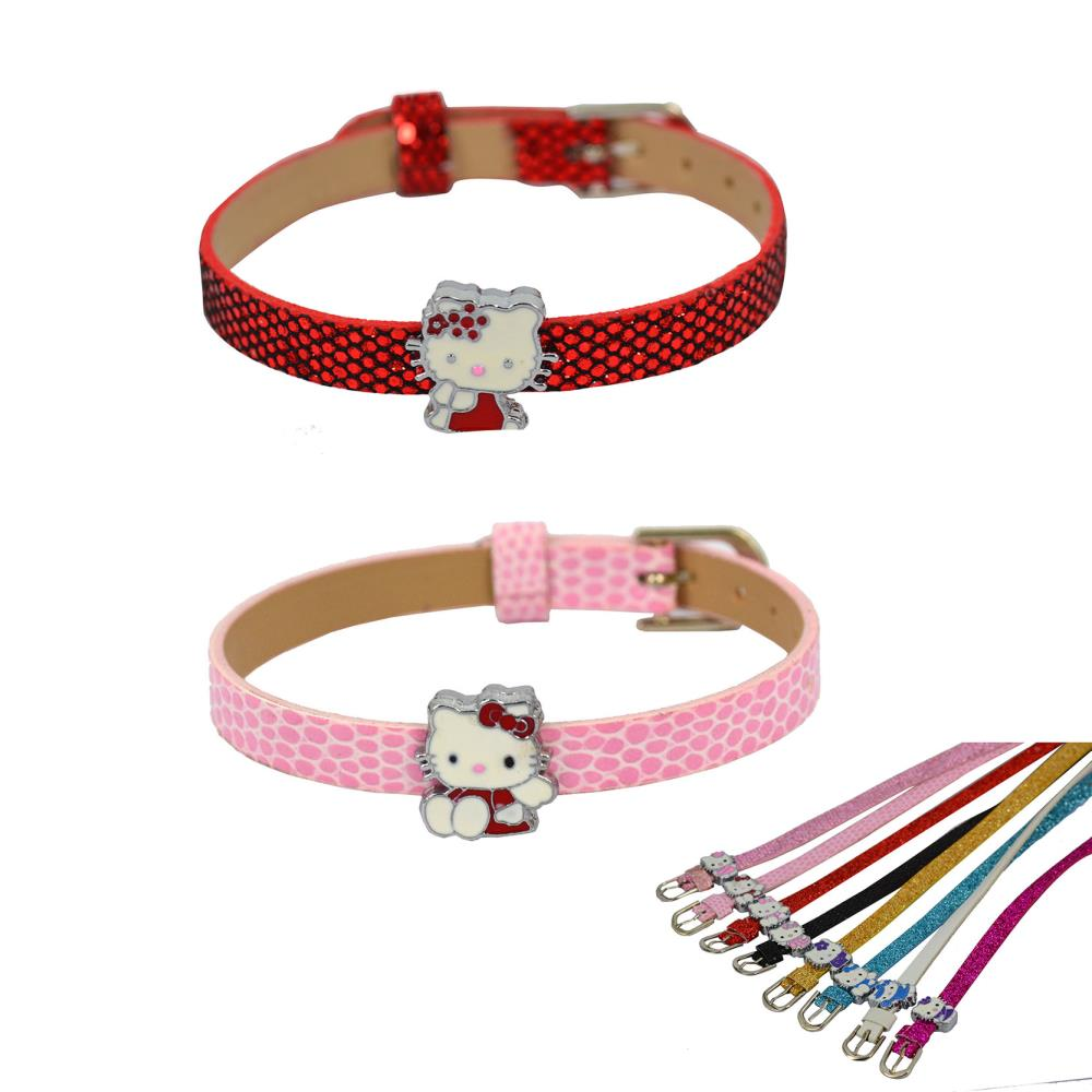 MIX 5 pcs Hello Kitty DIY Bracelet Fashion Bracelet Costume Charm Bracelets Bangle in jewelry(China (Mainland))