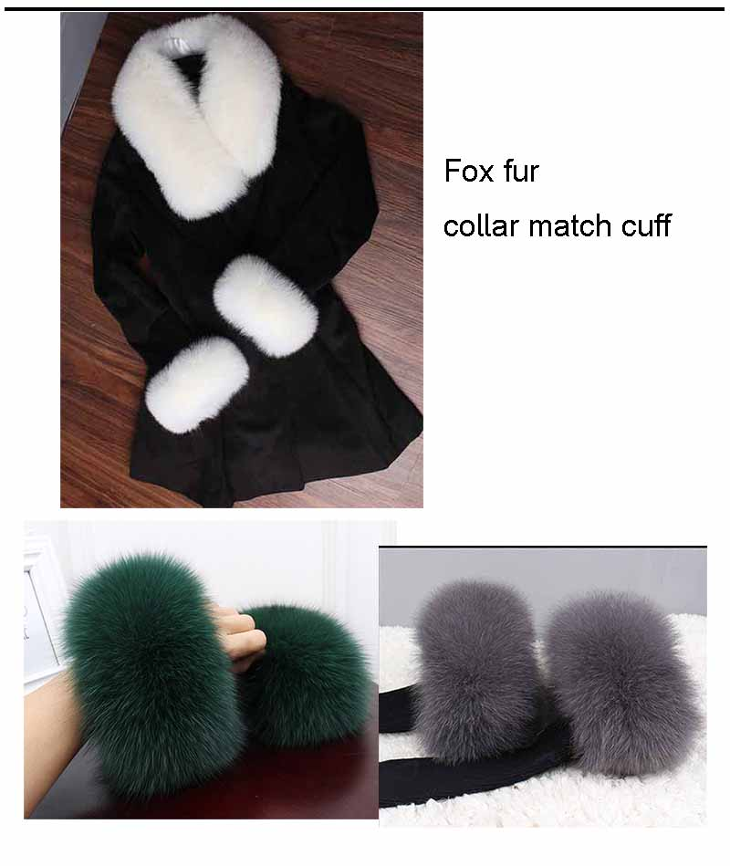 fox fur cuff match