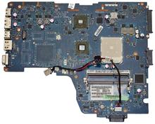 Original laptop Motherboard For Toshiba Satellite A660D A665D NWQAE LA-6192P K000108480 DDR3 integrated graphic card 100% tested