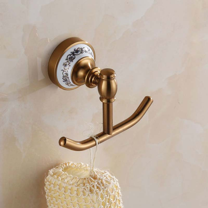 Popular ceramic towel hooks buy cheap ceramic towel hooks lots from china ceramic towel hooks for Ceramic towel hooks for bathrooms