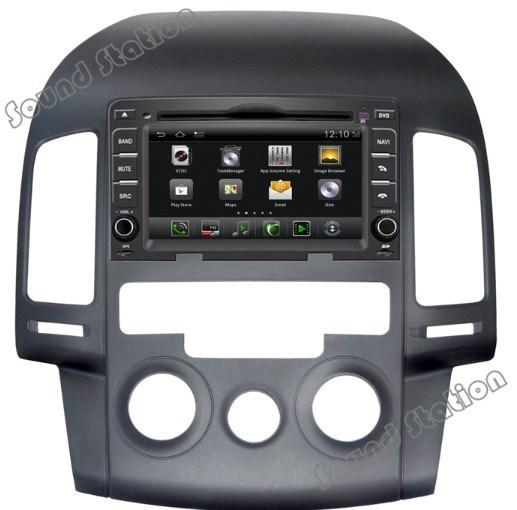 Android OS For Hyundai I30 Car Stereo Radio DVD GPS Navigation Nav Sat Head Unit Media Audio Video Central Multimidia Multimedia(China (Mainland))