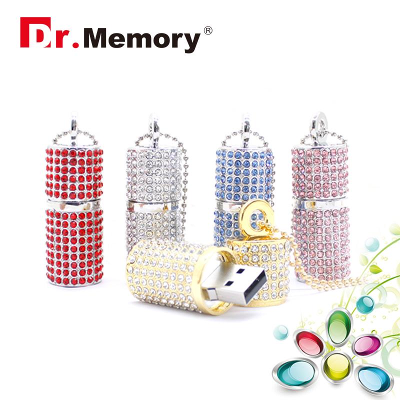 Diamond 16gb usb flash drive jewel usb flash drive metal pendrive luxury Chain 32gb flash stick 2016 wholesale key usb 8gb(China (Mainland))