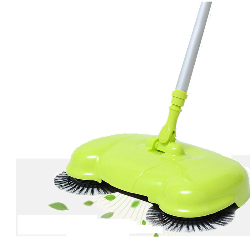 2017 Home 360 Degree Rotatable Cleaner 3 in 1 Wireless Handheld Sweeper Broom Mops For Hard Floors Dust litter Cleaning Tools(China (Mainland))