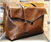 Hot!! New Fashion Brand Men PU Leather Briefcase Designer Leisure Messenger Bag Shoulder Bag Retro Business handbag Brown Black(China (Mainland))