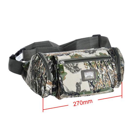 Fishing Bag Multi-purpose Lure Fishing Waist Bags Camouflage