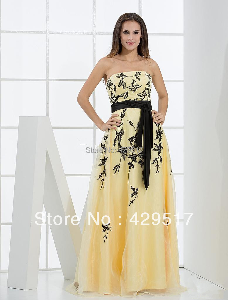 Yellow Prom Dresses For Sale 50