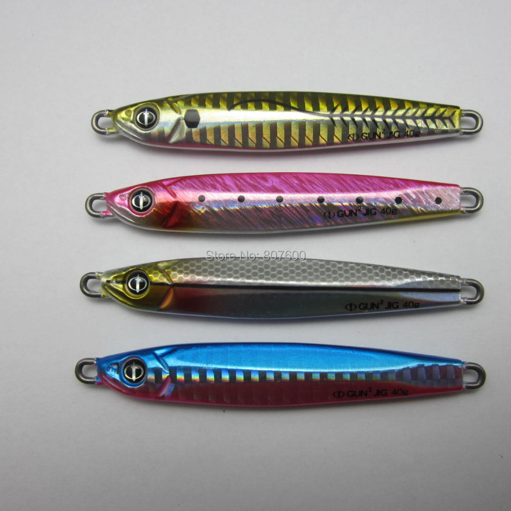 Crazy fish japan ocean ruler gun2 jig saltwater lure for Salmon fishing lures