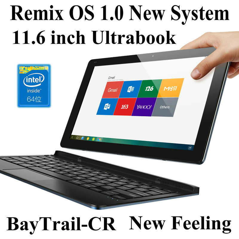 """11.6"""" Inch HD Ultrabook Remix OS 1.0 System 32GB Laptop Tablet PC Mini Netbook Computer(China (Mainland))"""