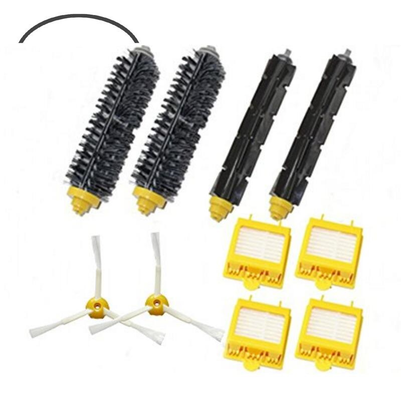 New Filters Beater & Bristle Brush Side Brush 3 armed Pack Big Kit for iRobot Roomba 700 Series 3 Armed 760 770 780 Free Post(China (Mainland))