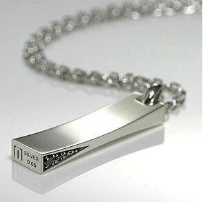 Men Jewelry 100% 925 Sterling Silver Necklaces Men Necklaces & Pendants Silver Jewelry Men Necklace(China (Mainland))