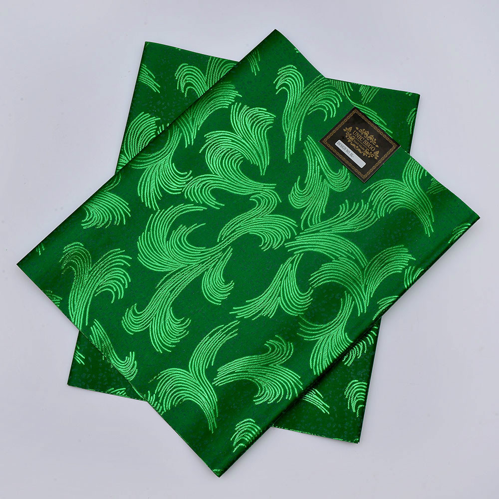 SL-1518,Hot selling,african sego headtie,Gele & Wrapper,2pcs/set,High Quality, used for party,weddin,NIGERIA GREEN(China (Mainland))