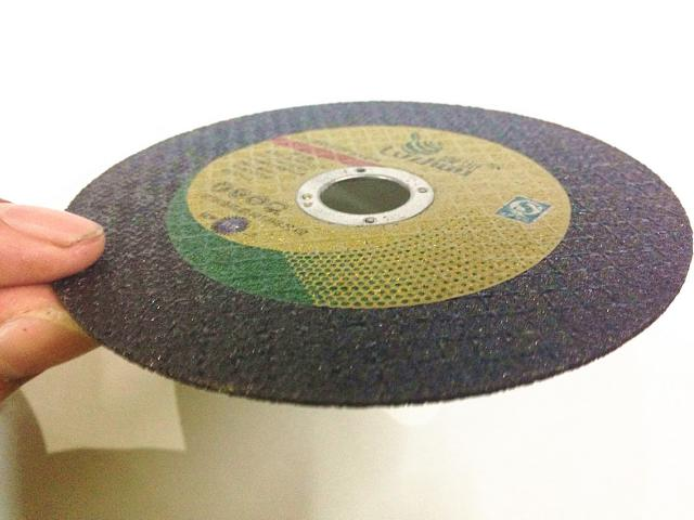 Фотография Cutting blade for stainless steel angle grinding wheel of 105*1.0*16 double mesh network