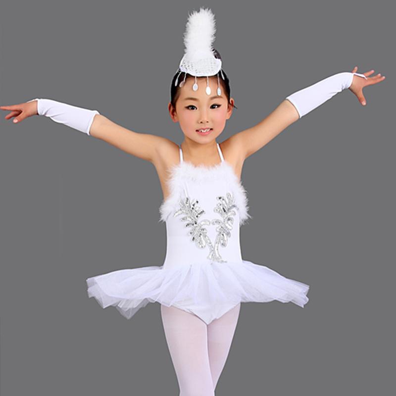 White swan ballet costume