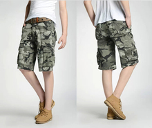 Group-buying!!!!2014 New brand Hot Selling Men's Camouflage/ Camo Board/surf Shorts Men's short Cargo Pants(China (Mainland))