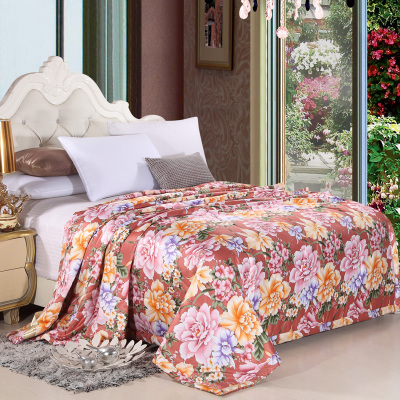 superking220X240cm porcelain flowers silk Superfine fiber fabrics conditioning bedding Children's quilt bedset bedcover bedskirt(China (Mainland))
