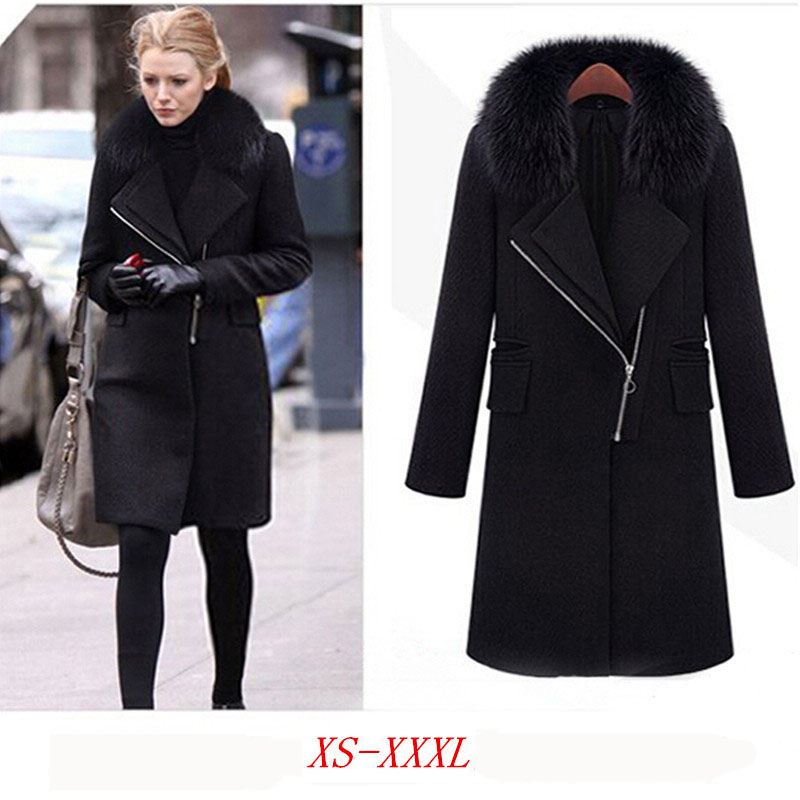 black winter coat women - photo #27