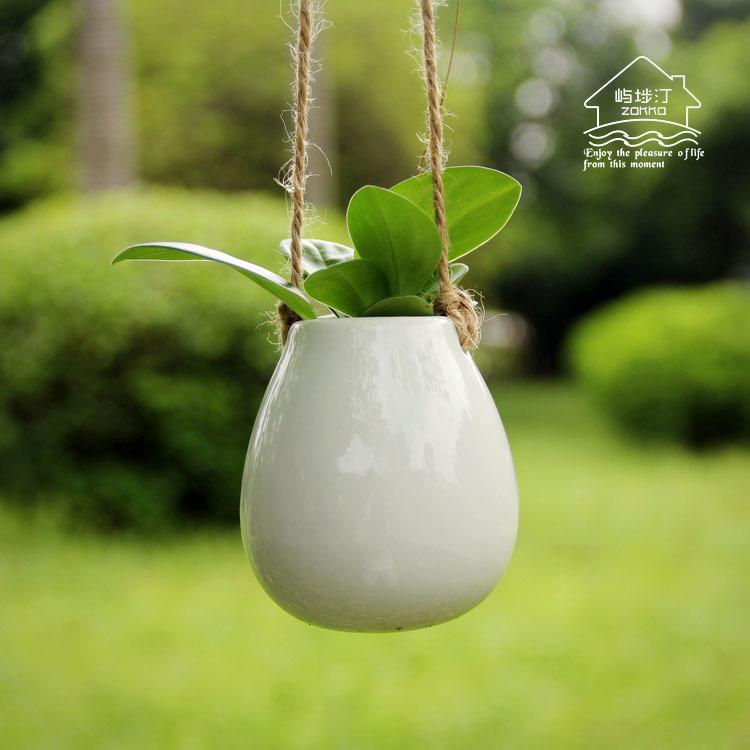 ikea style blanc en c ramique montage egg de sharp fleur vase pour eau planter jardin. Black Bedroom Furniture Sets. Home Design Ideas