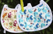 100 cotton EVA Baby Bibs Waterproof Lunch Bibs Burp Cloths Towel Saliva for kids