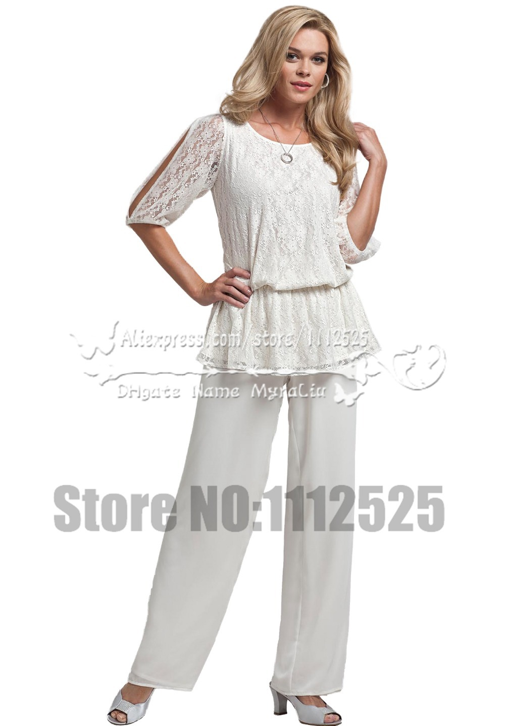 Buy amp1009 summer white two piece mother for Mother of the bride dresses summer wedding