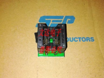 electronics Bounce seat adapter SOP8-DIP8 widebody applicable 25T80 Integrated circuit(China (Mainland))