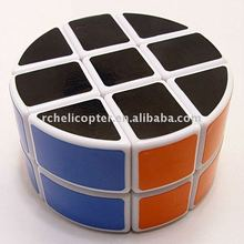 Buy LeadingStar ^_^ Free Shipping! LanLan 2x3x3 Pie Shape Round Column Speed Cube White Magic Cube Puzzle for $8.78 in AliExpress store