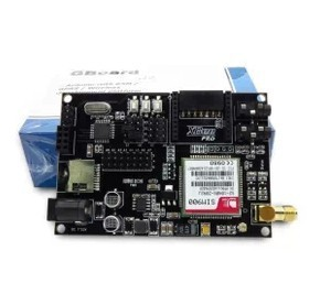 SIM900 module / GSM GPRS expansion boards / mega328 development board / GBoard with antenna