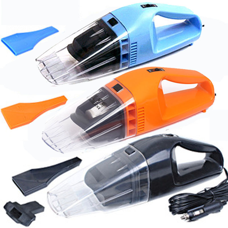 12V 120W Portable Car Vacuum Cleaner Handheld Wet Dry Aspirador Dual-use Super Suction Dust Cleaner Catcher Collector 5m Cable(China (Mainland))