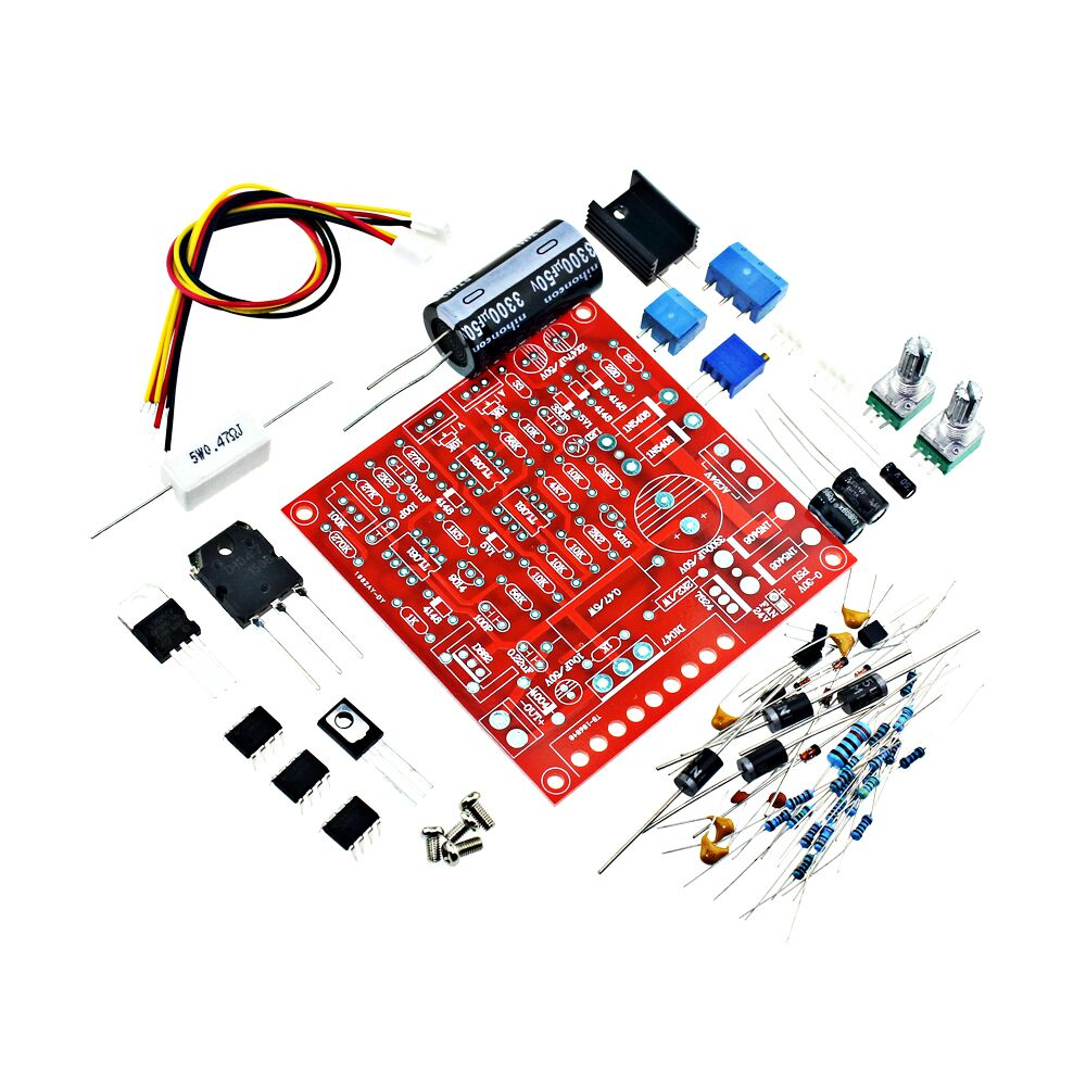 Free shipping 0-30V 2mA-3A Continuously Adjustable DC Regulated Power Supply DIY Kit Short Circuit Current Limiting Protection(China (Mainland))