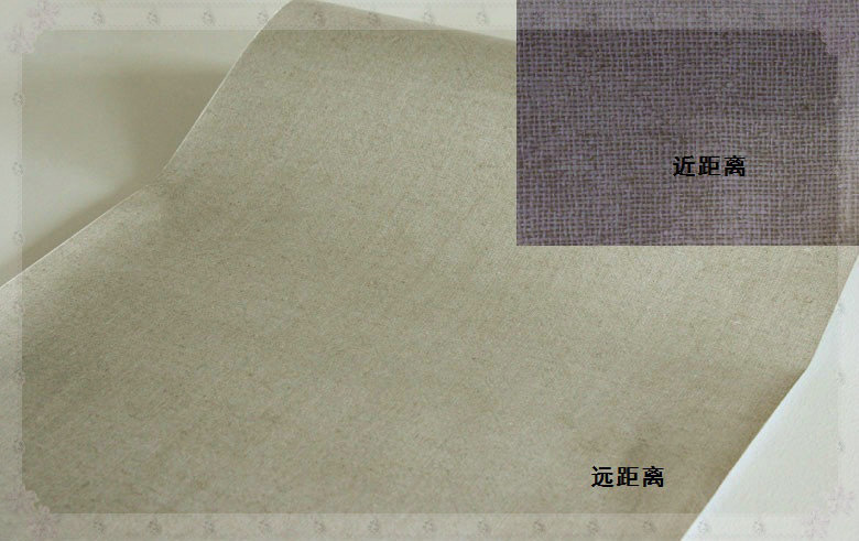 Paper Backed Linen Wallpaper Genuine Waterproof Linen