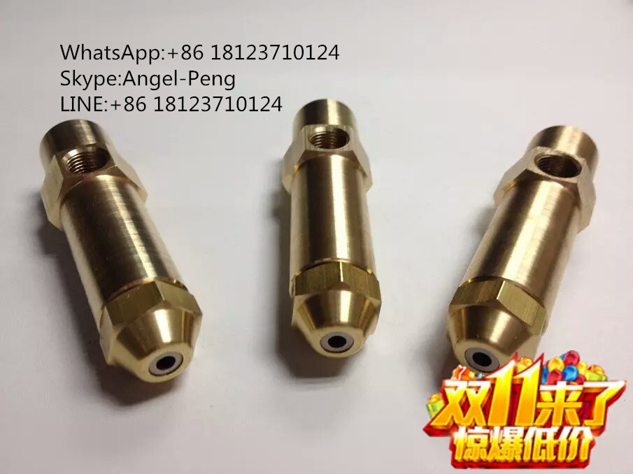 1mm,1.5mm,2mm,2.5mm air atomizing waste oil nozzle air atomizer spray nozzle waste oil burner nozzle(China (Mainland))