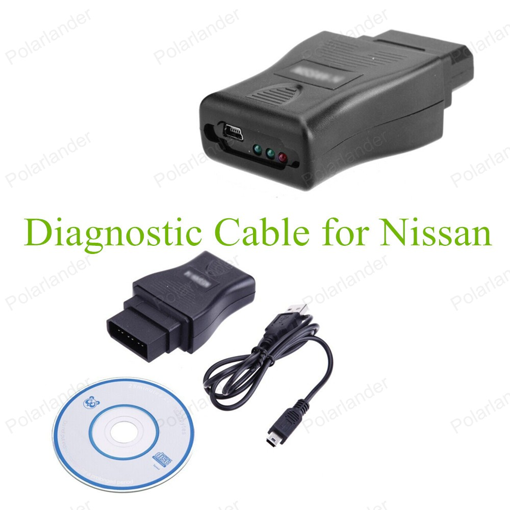 High Quality 2016 Car Diagnostic Cable OBD2 USB Diagnostic Interface Tool For Nissan Car Scanner Cable Free Shipping(China (Mainland))