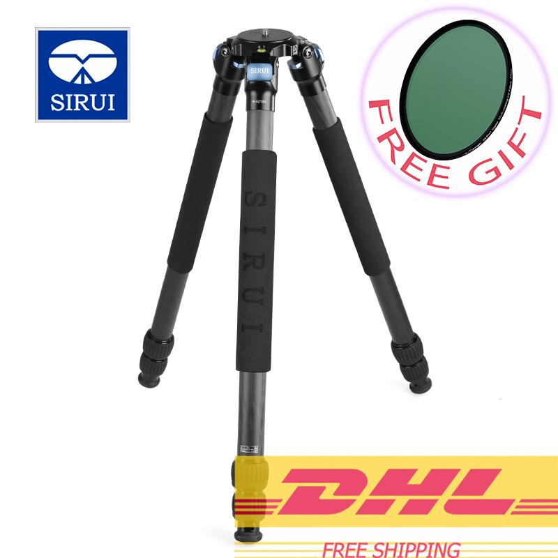 Sirui R4213X carbon fiber stable support professional digital single lens reflex camera portable tripod DHL Free Shipping(China (Mainland))
