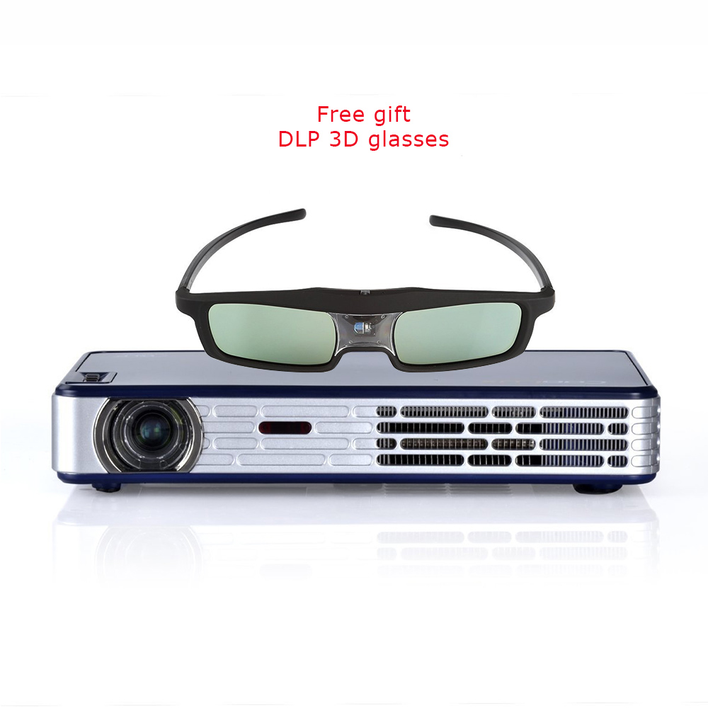 Dual core cpu 1 6g 1gb ram 120 lumens pico projector andriod portable projector reviews for Pocket projector comparison