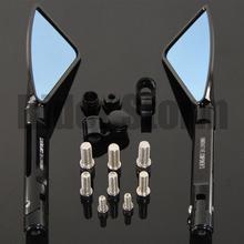 Buy Tomok Aluminum CNC motorcycle rearview Side mirror honda yamaha Kawasaki z750 Z800 Z1000 Suzuki Ducati XT660 WR250 WR125 for $35.19 in AliExpress store