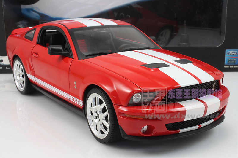 FORD mustang GT500 alloy car models Diecasts 1:18(China (Mainland))